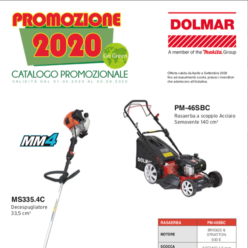 PROMOZIONALE DOLMAR 04/2020 - 09/2020