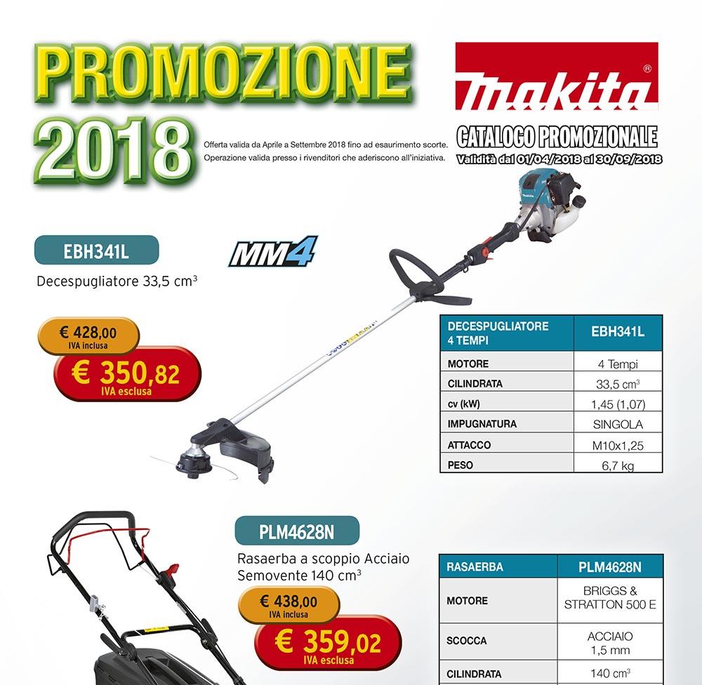 NUOVO CATALOGO PROMOZIONALE MAKITA APRILE - SETTEMBRE 2018